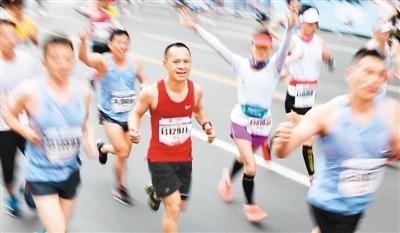 马拉松赛事激活城市新动能