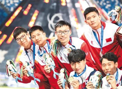 青春力量不散场 第30届世界大学生夏季运动会中国代表团斩获22金