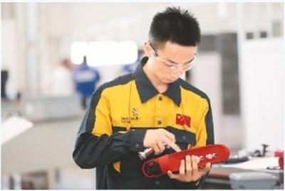中国技能健儿亮相第45届世界技能大赛