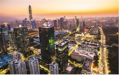 深圳先行示范打造標桿城市