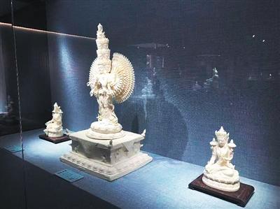 明清内造藏传佛像德化瓷艺传承展在京开幕