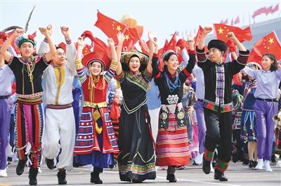 盛世欢歌颂中华