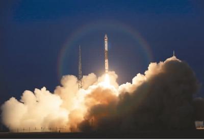 中国再次成功发射一箭双星 卫星顺利进入预定轨道