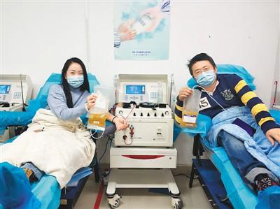 新冠肺炎康复台胞夫妇捐献血浆
