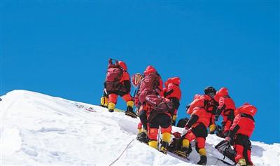 2020珠峰高程登顶测量成功