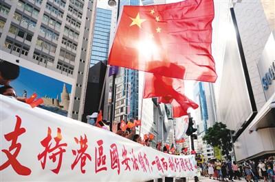 多国人士支持全国人大常委会通过香港国安法