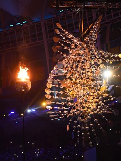 里约奥运火炬台,号称史上最小的圣火火焰