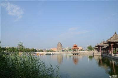 关于菏泽的风景照片