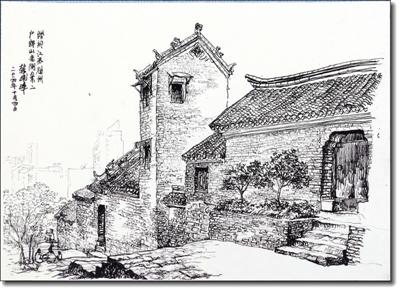 元明清时期家具手绘