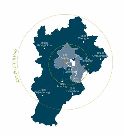 2020年前将实施北京至霸州铁路,北京至唐山铁路,北京至天津滨海新区