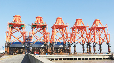 广东珠海桂山海上风电场工程正式开工