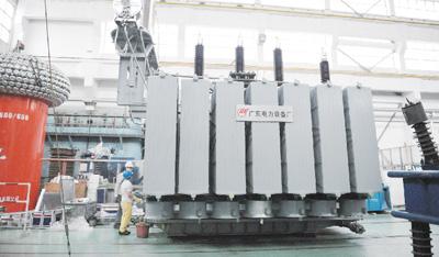 国内首台110千伏天然脂绝缘油变压器