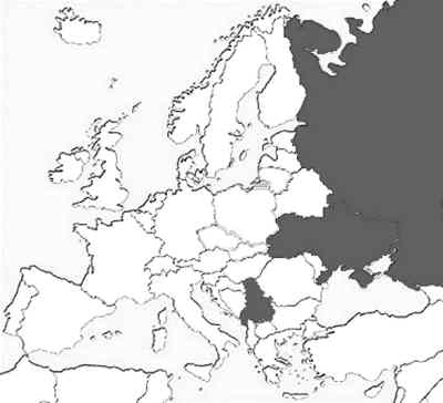 俄罗斯国旗手绘