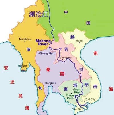 中国,越南,老挝