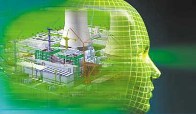 并通过达索系统的catia软件分析出更多反应堆的内部结构情况,仿真的