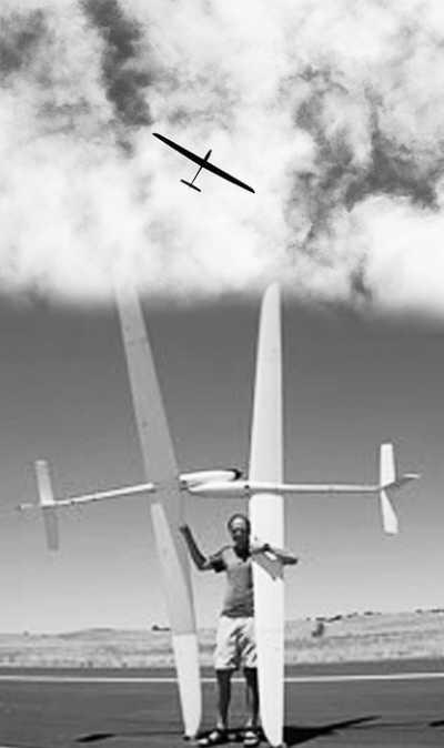 新式无人驾驶飞机借助空气动力