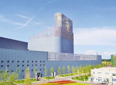 6月19日,在国华北京项目现场,中国能建与神华集团所属国华电力公司