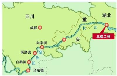 西南区域水电送出共有5条特高压输电线路
