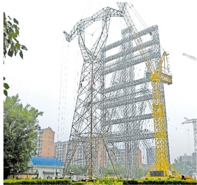 高压输电塔结构